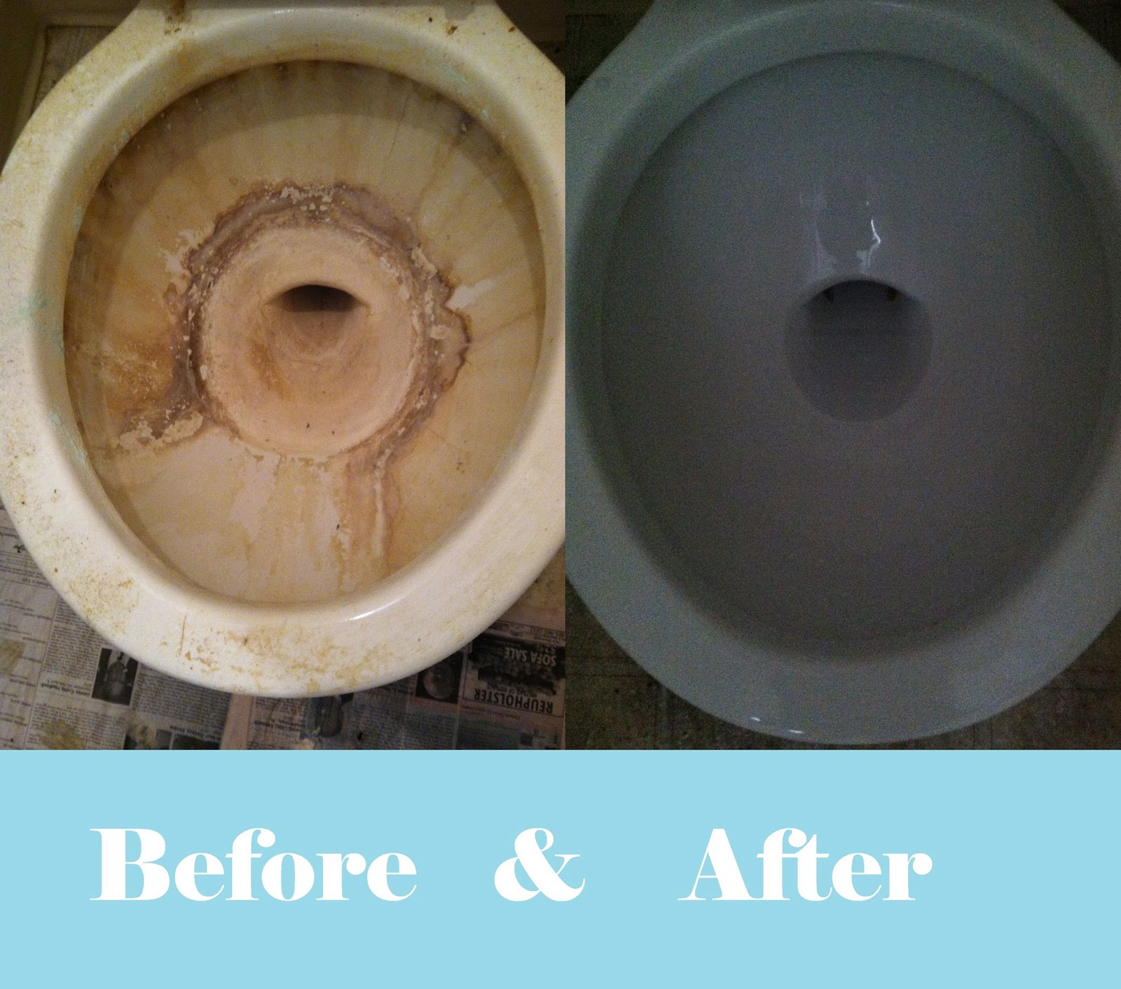 My American Confessions: How to Clean IMPOSSIBLE Toilet Bowls