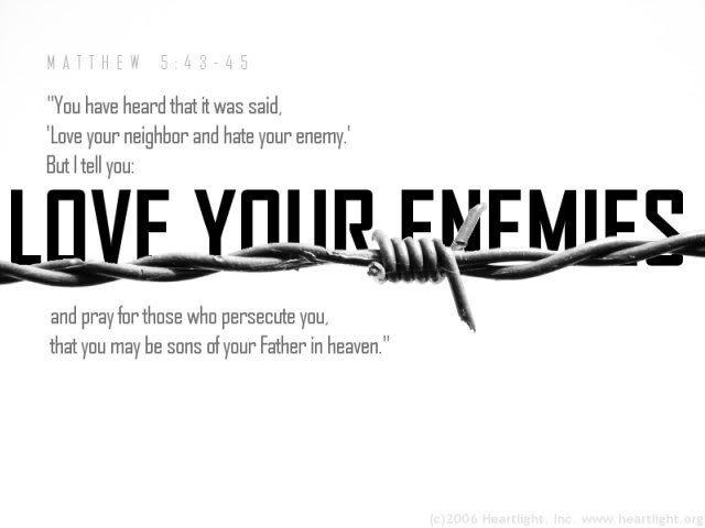 Love Your Enemies: My Broken Vessel: Unraveling The Pattern