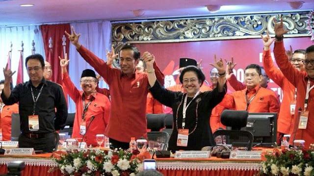 Akhirnya, PDIP Resmi Usung Jokowi Capres 2019