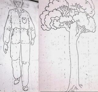 Jenis psikotes terakhir untuk Pt Pako Akuina adalah menggambar orang dan pohon