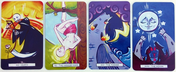 Tarot Deck Review: Vivid Journey Tarot - BOHEMIANESS
