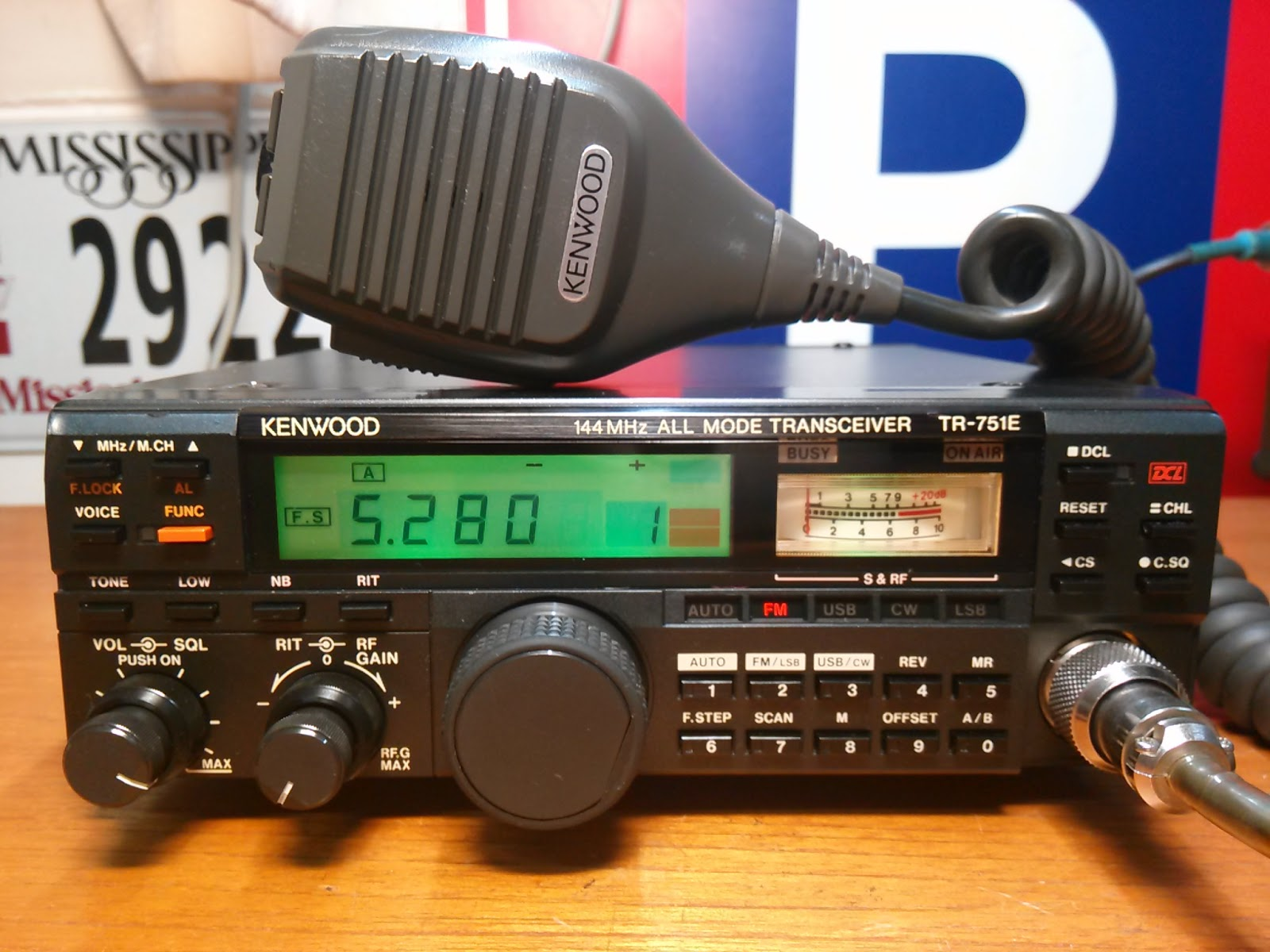 Heru-RadioMart: KENWOOD TR-751E VHF All Mode Transceiver