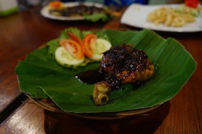 Ayam bakar Parape