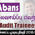 Vacancy In Abans PLC  Post Of - Audit Trainees