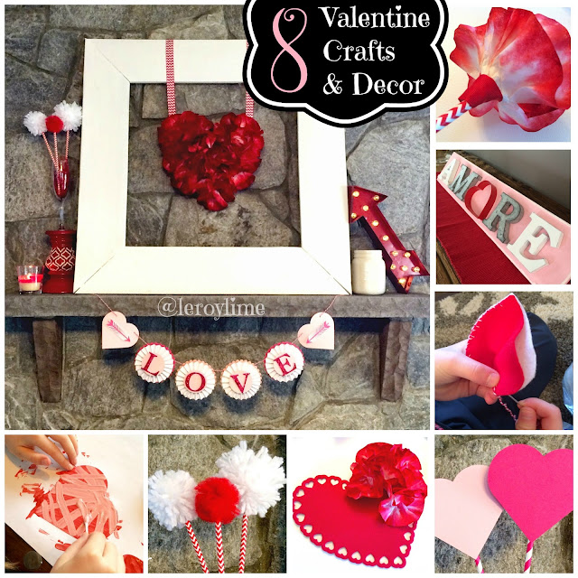 8 Valentine Crafts and Decor - LeroyLIme