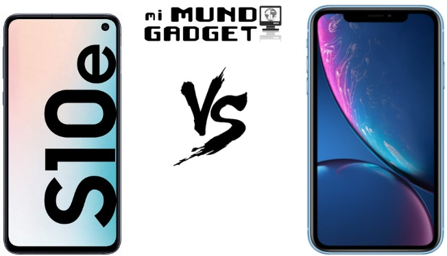 Comparativa: Samsung Galaxy S10e vs iPhone XR