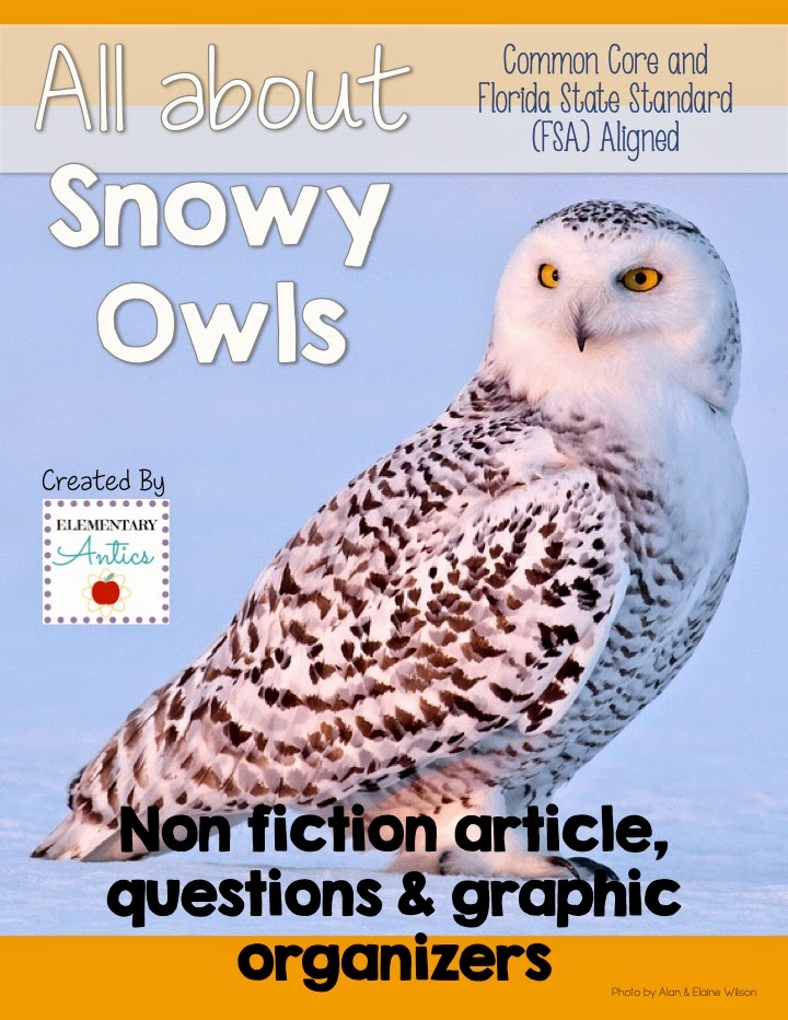http://www.teacherspayteachers.com/Product/Snowy-Owls-CCSS-FSA-Aligned-Reading-and-LanguageEditing-Practice-1645122