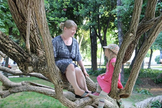 lasten kanssa Kroatiassa, Splitissä