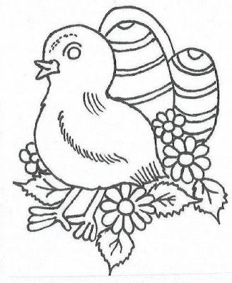 ruysunek, kurczak do kolorowania ręcznie rysowany