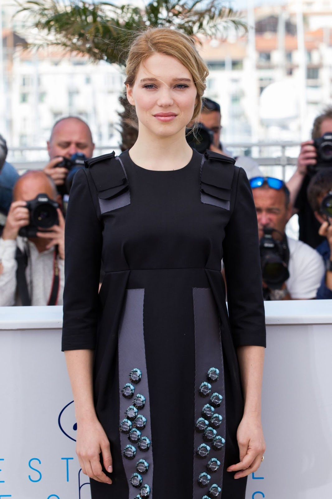 Full HQ Wallpapers of Lea Seydoux The Lobster Photocall At 2015 Cannes Film Festival