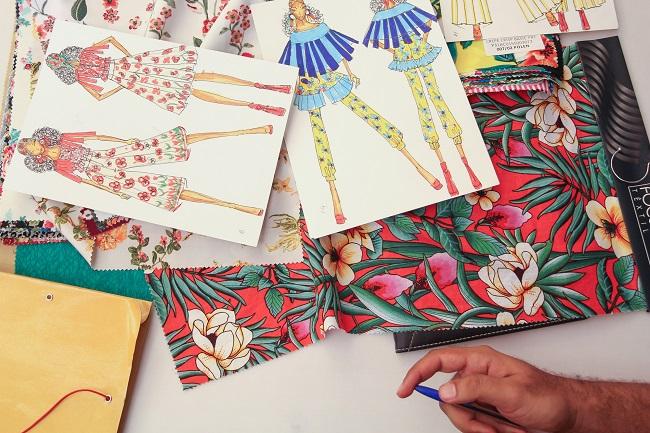 ... a ponta da cadeia têxtil faz um laço com os novos estilistas,  proporcionando renovação das matérias-primas e trazendo novidades para o  mercado da moda. 3f4d1a1574