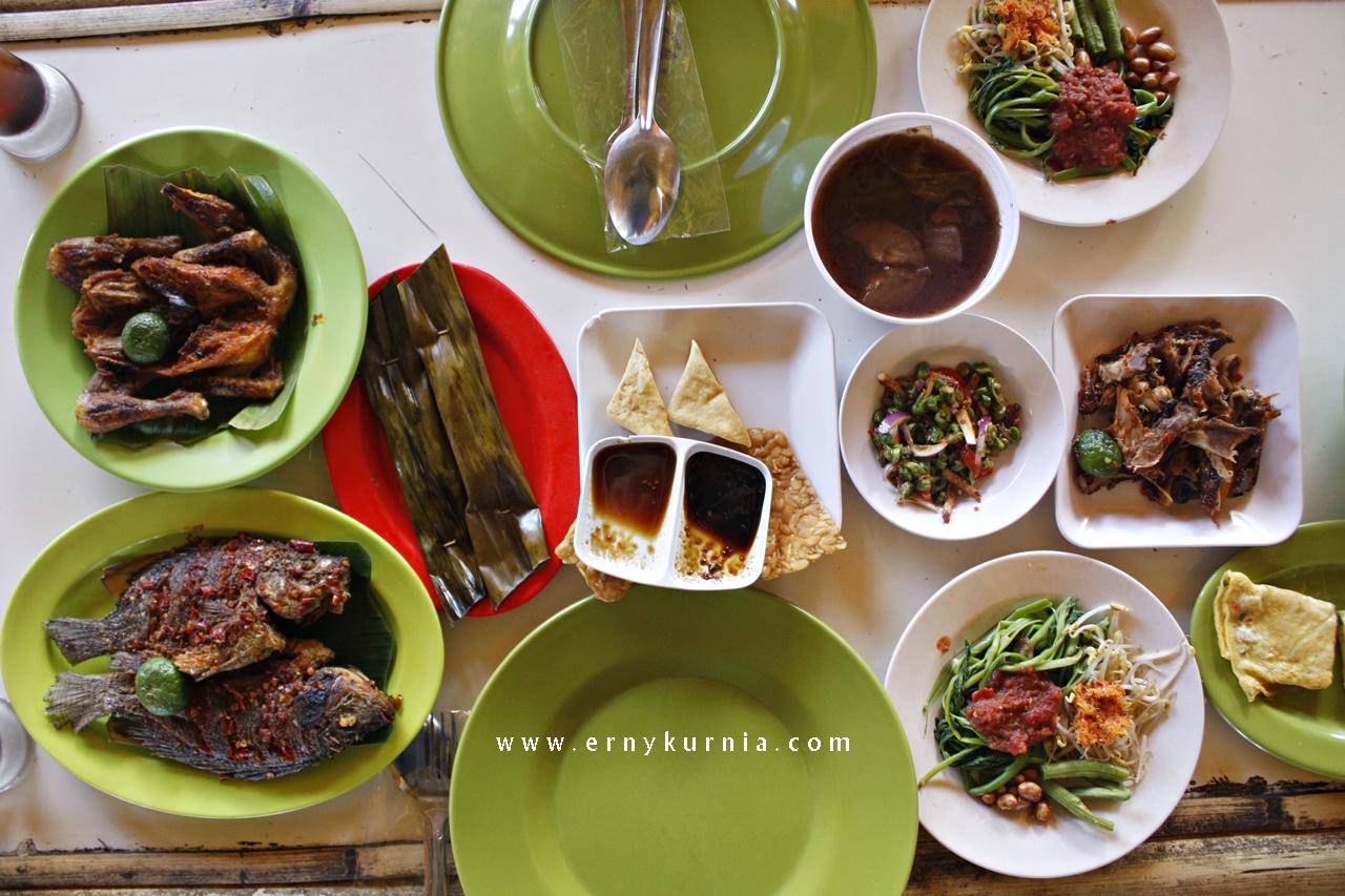 Makanan ala Lombok, Menu Lombok, Green Asri, Menu Green Asri