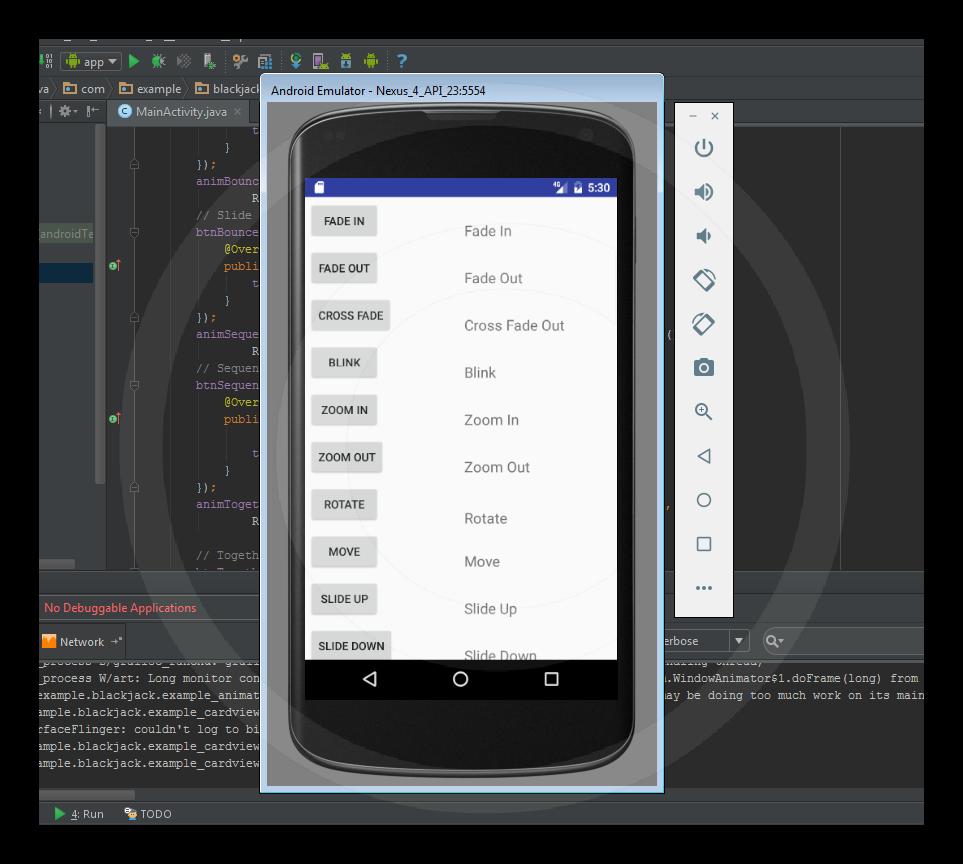 Como crear una Animation en Android - Universo Android