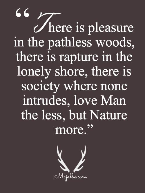 Man Less, More Nature