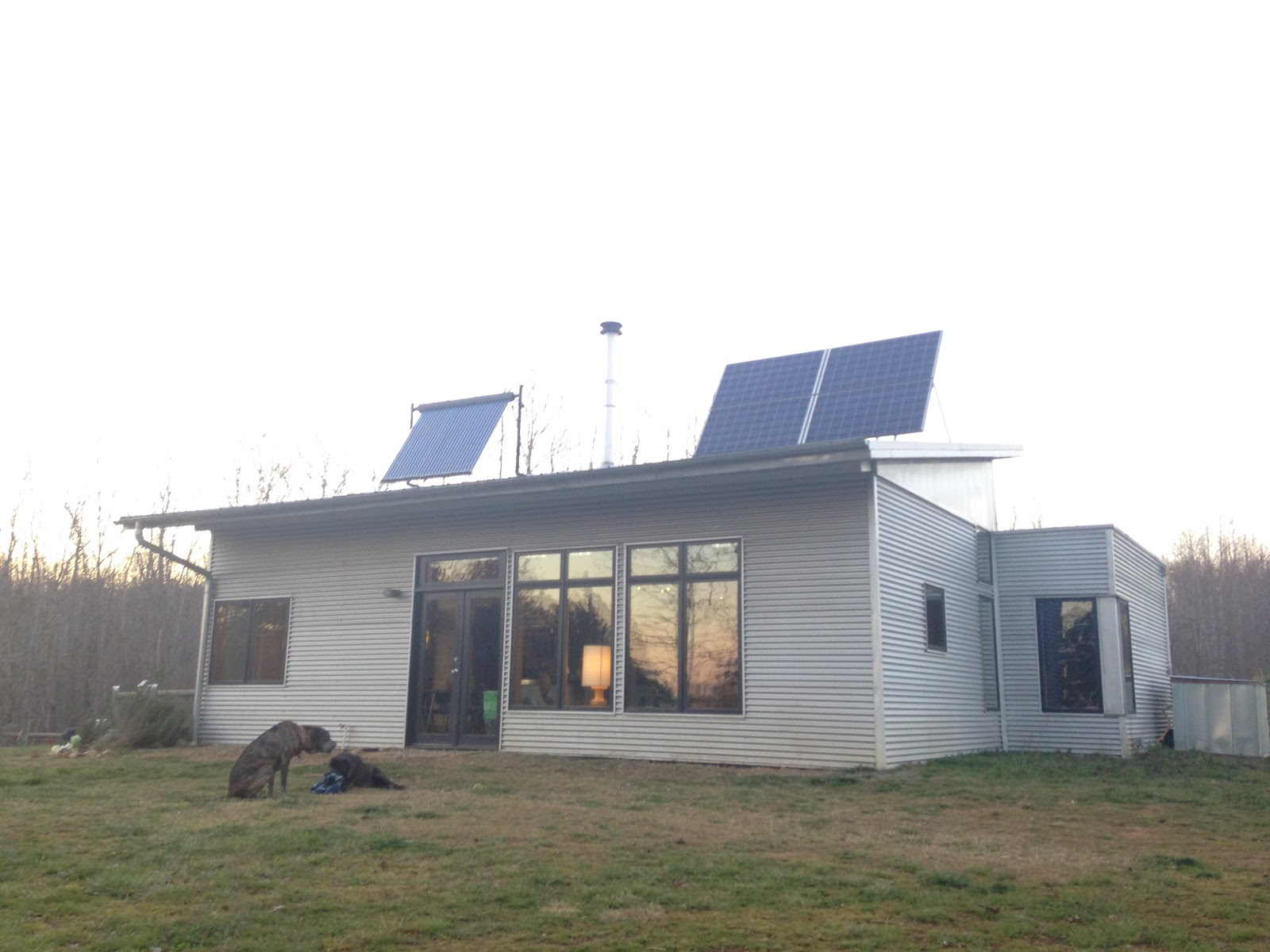 Off grid passive solar prefab watches shipping containers for Passive solar prefab homes