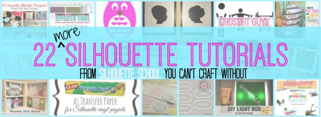 Silhouette Cameo, Silhouette tutorial, DIY, do it yourself, Silhouette School Blog