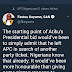 Real Reasons Atiku Left APC - Festus Keyamo Tweets