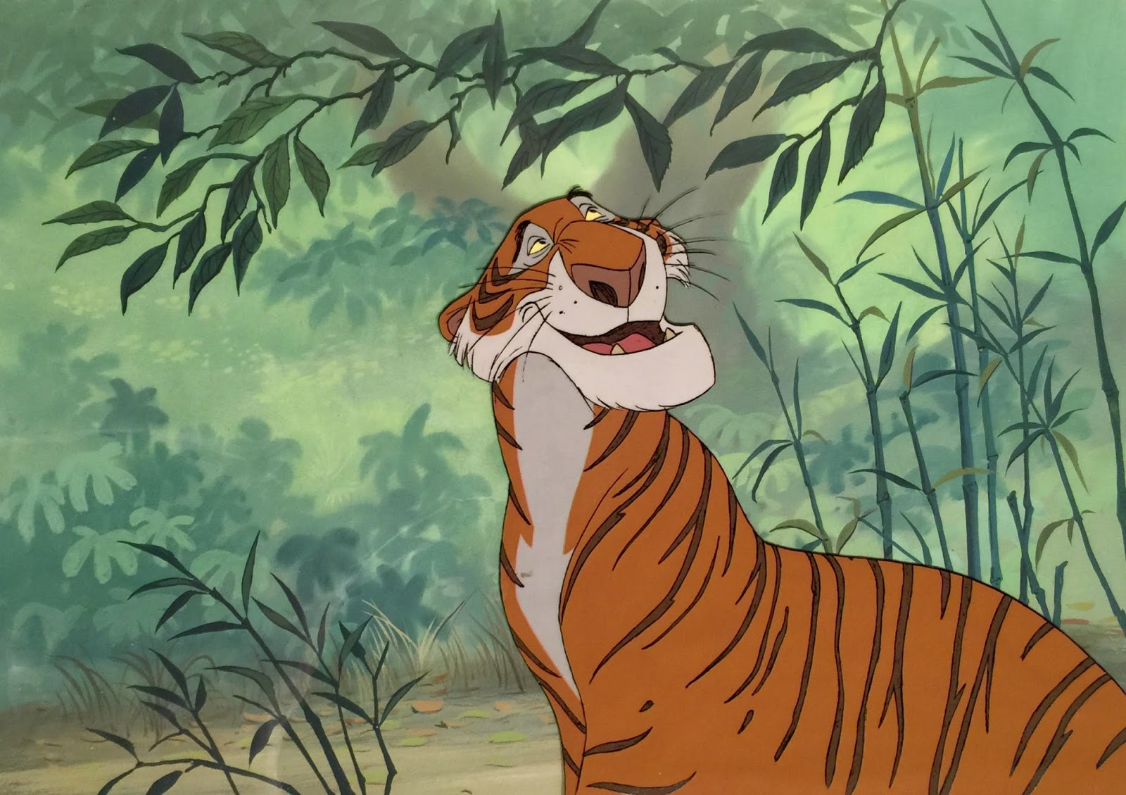 Animation Collection Shere Khan Original Production Cel