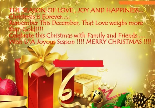 Marvelous Merry Christmas Wishes Quotes For Facebook