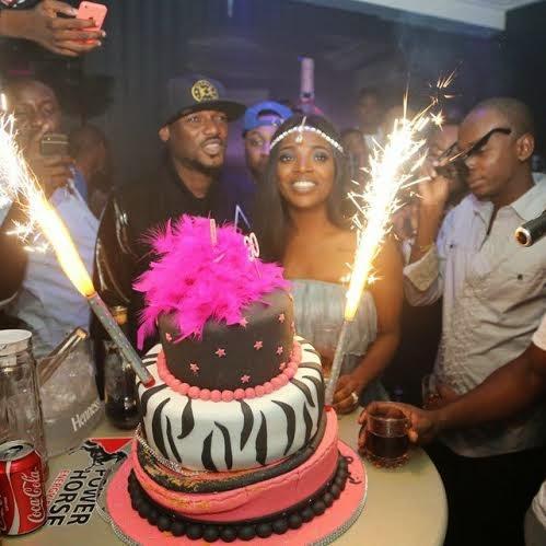 1 Photos from Annie Idibias birthday party last night