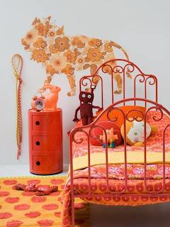 cuarto juvenil naranja