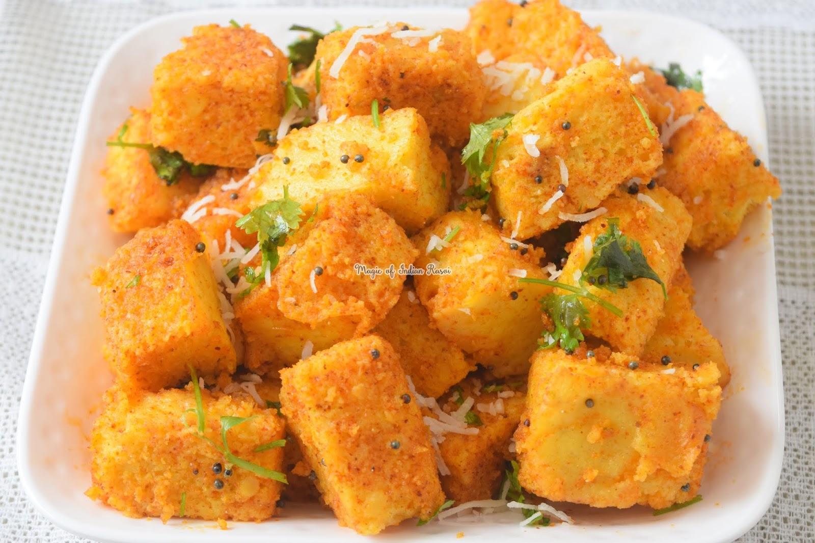 Tam Tam Khaman Dhokla Recipe - 1
