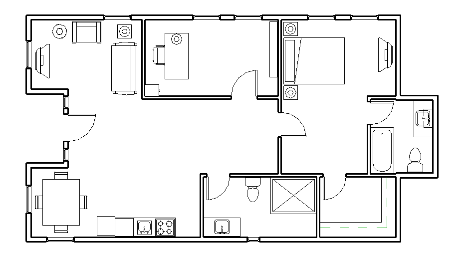 Open Floor Plans For 3 Bedroom Houses likewise Ranch Style House Plans 2042 Square Foot Home 1 Story 4 Bedroom And 2 Bath 2 Garage Stalls By Monster House Plans Plan1 108 further Shipping Container Floor Plan further Side Load Garage House Plans additionally High Styled One Story. on rancher home plans