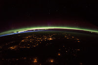 Earth at Night, Sunset and Aurora seen from the International Space Station