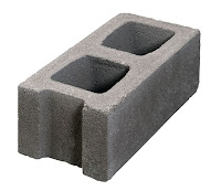 İki gözlü ve geçmeli beton kerpiç