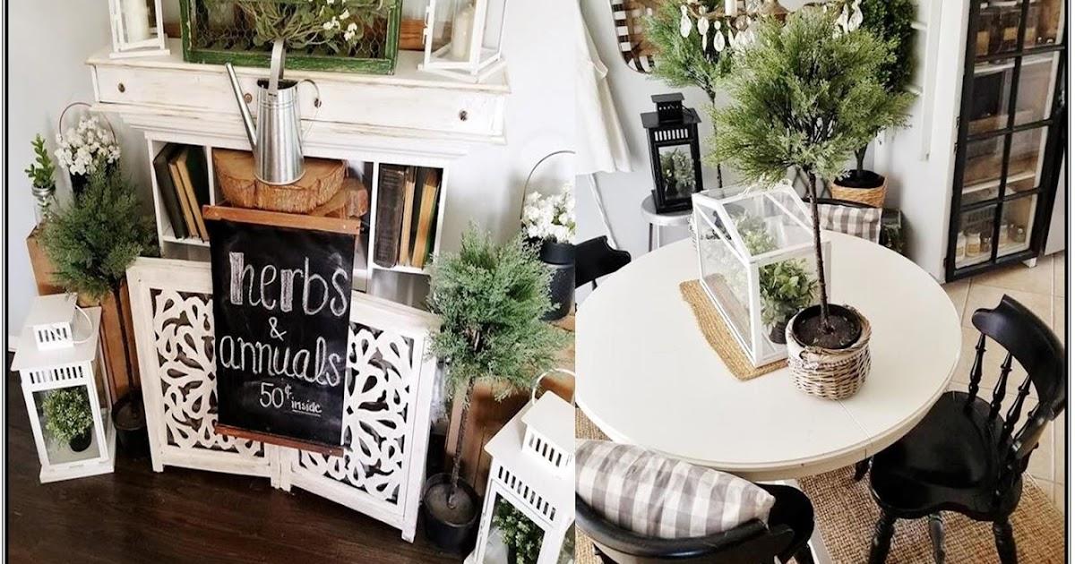 The quaint sanctuary how to give any home farmhouse for Cottage charm farmhouse