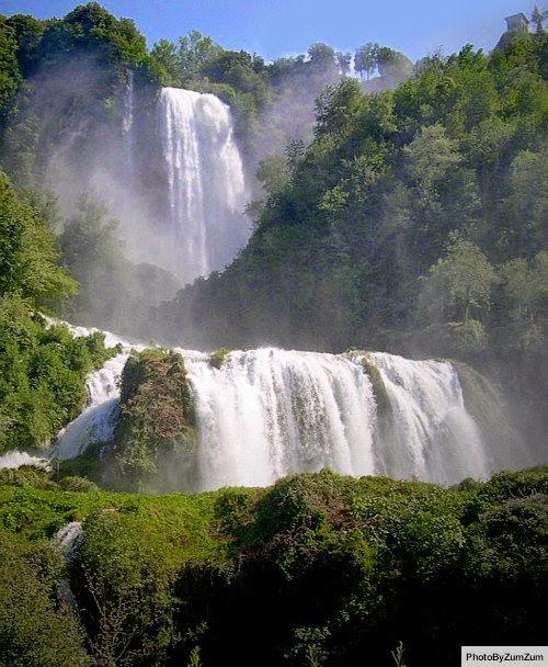 watervallen van Marmore