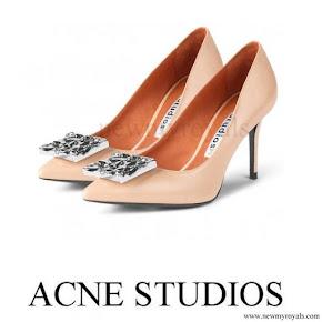 Crown Princess Victoria wore Acne Studios Andrea Pumps