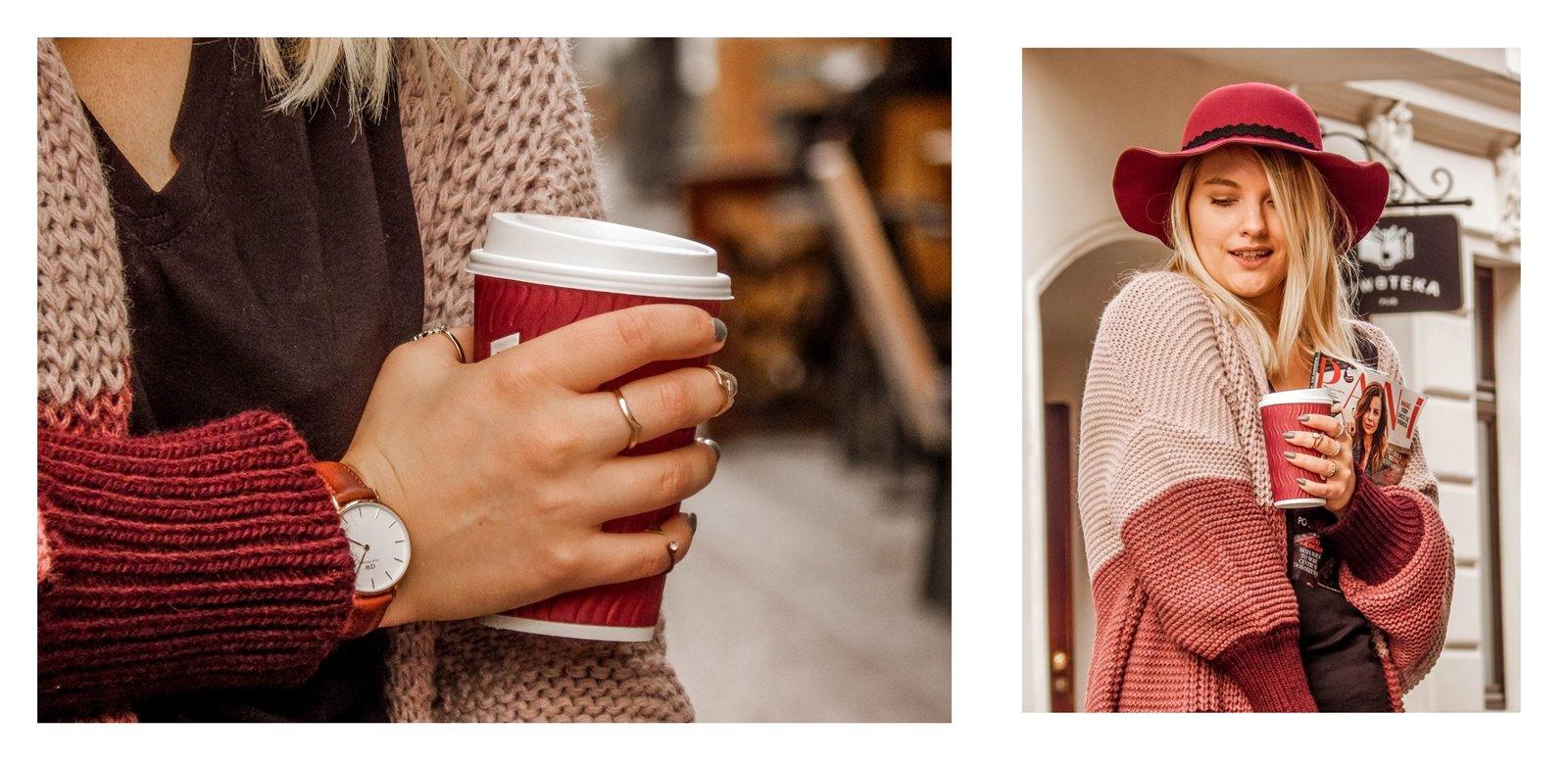 6a detale zegarek daniel wellington złote pierścionki pomysł na stylizacje prezent modnapolka łódź outfit jak nosić swetry owersize kolorowe ubrania na jesień co jest modne jesień zima 2018 blondynka kolory włosy