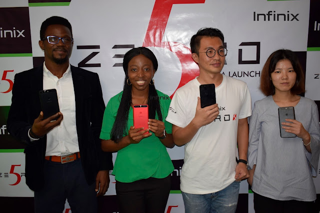 Infinix Mobility Announces Infinix Zero 5 As Its Flagship Model For 2017 in Nigeria 1