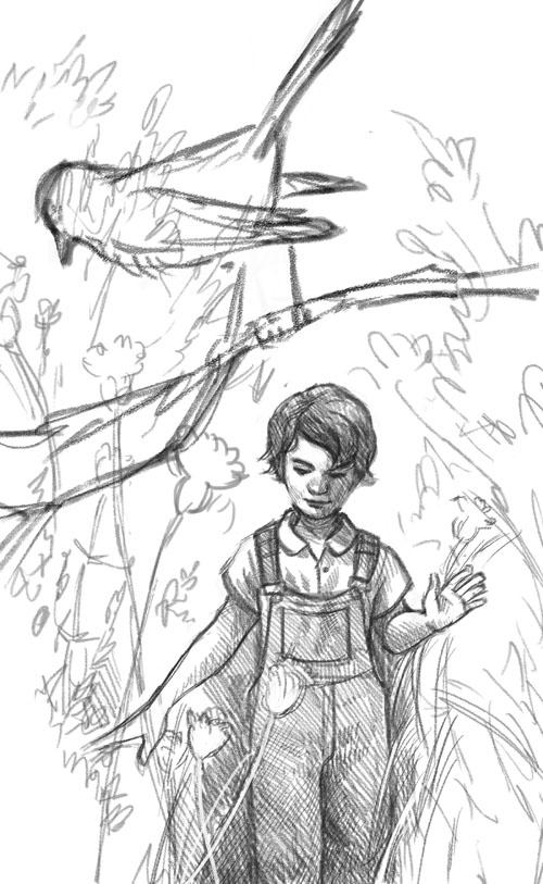 Kelley McMorris illustration: Personal Work: To Kill A