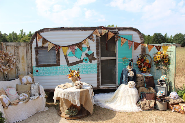 Gypsy Farm Girl glamper mobile boutique