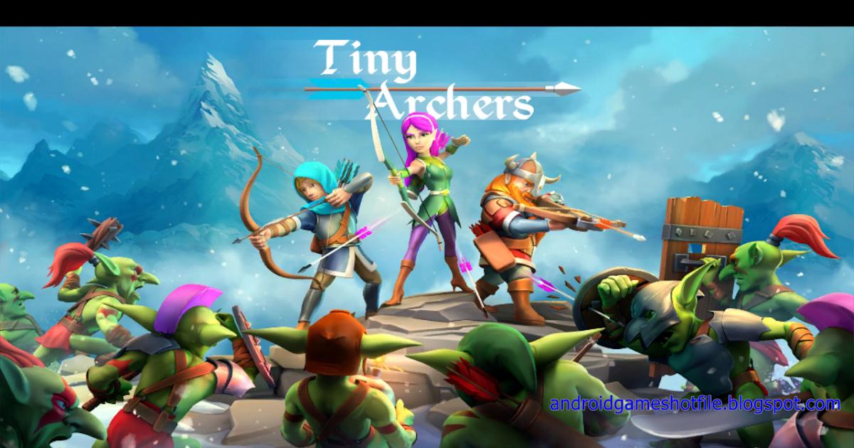 Tiny Archers v1.28.05.0 Mod Apk [ Unlocked/ Unlimited Gold