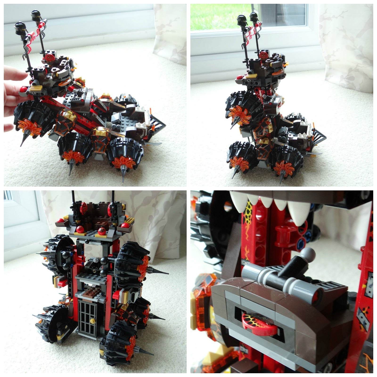 LEGO NEXO KNIGHTS, LEGO Christmas gift, General Magmar's Siege Machine of Doom