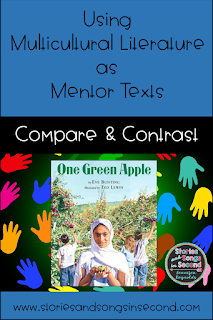 Use multicultural literature as mentor texts to teach important literacy skills and life lessons. Respect, tolerance, consideration, and kindness are all character traits that can be modeled through the use of diverse books in your classroom.
