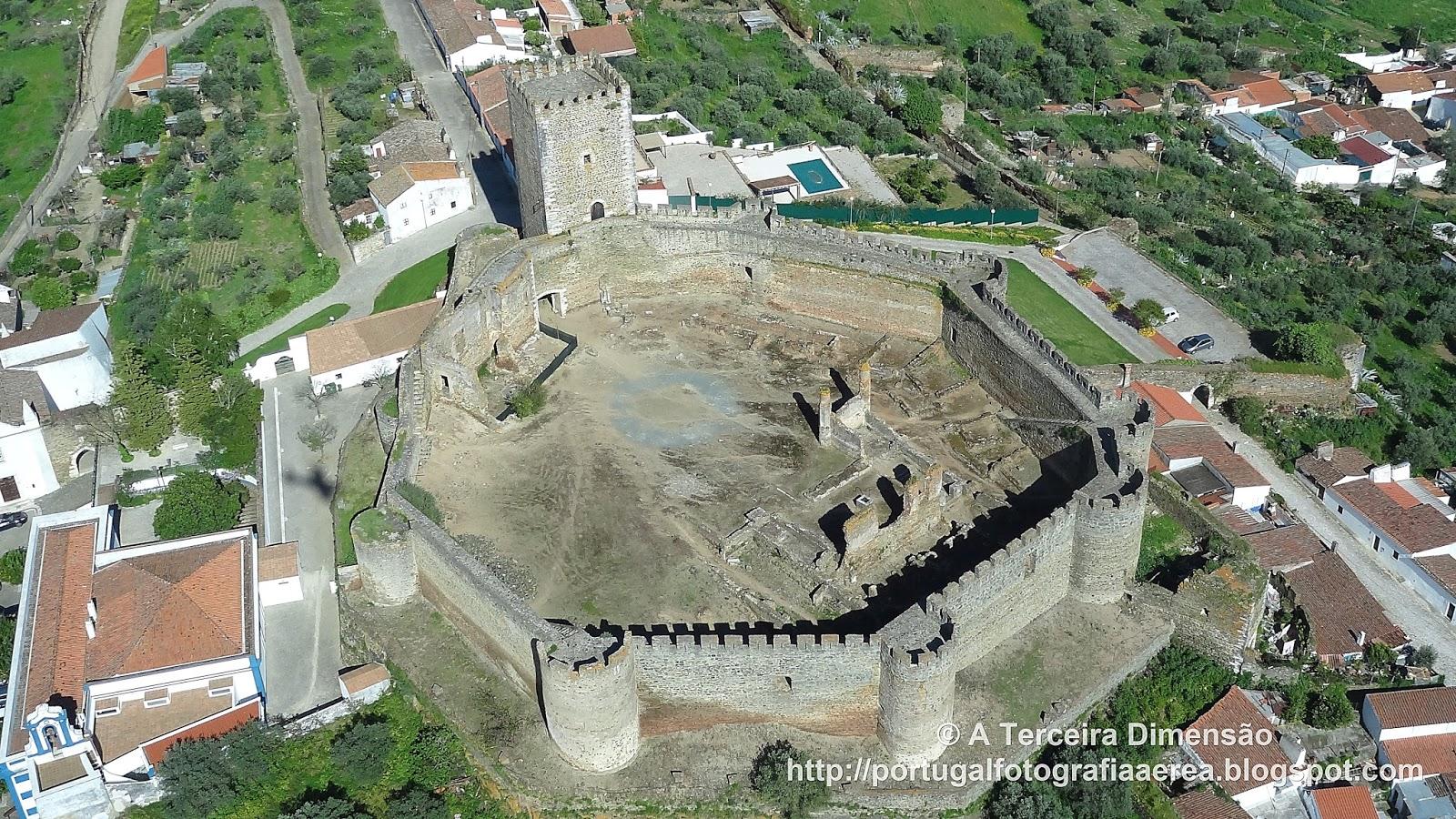 A Terceira Dimensão: Castelo de Portel