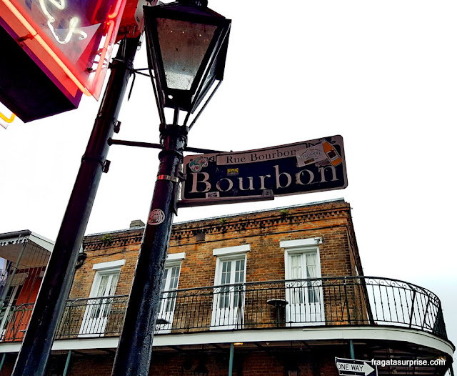 Bourbon Street, Nova Orleans