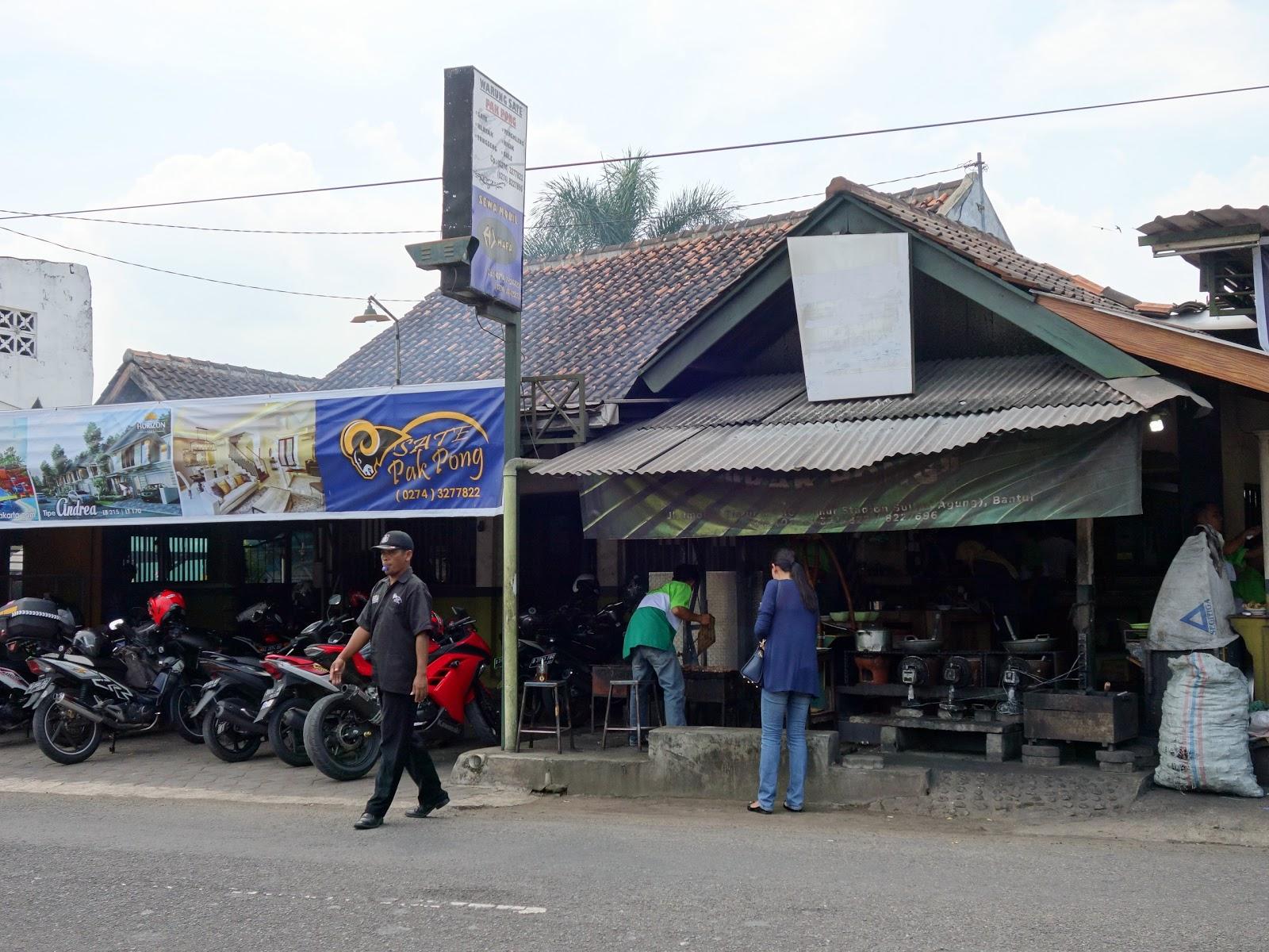 tesyasblog : Jogjakarta's Culinary: Sate Klathak Pak Pong