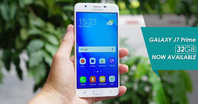 Spesifikasi dan Harga Samsung Galaxy J7 Prime