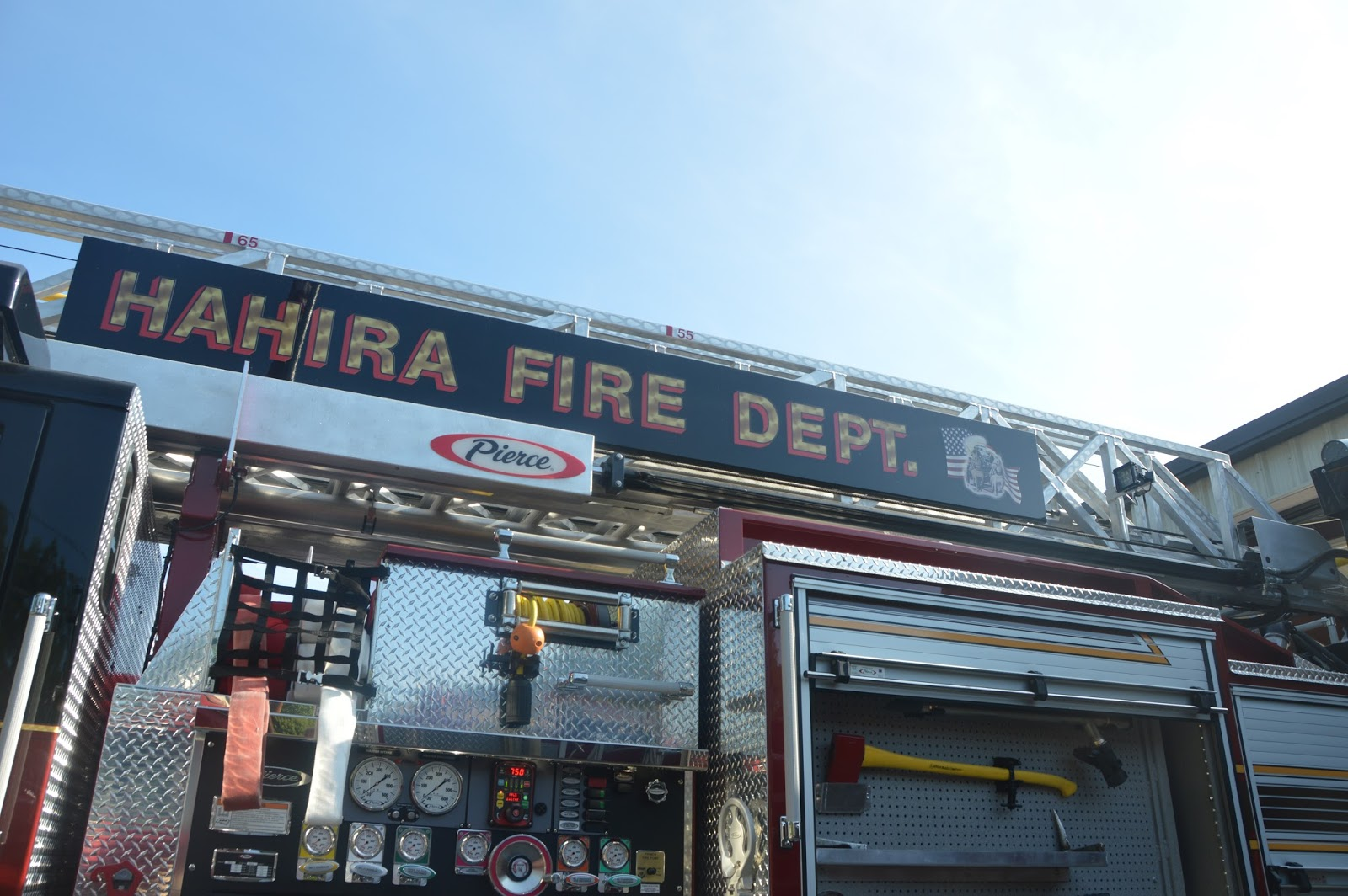 Fire Station Visit 2016