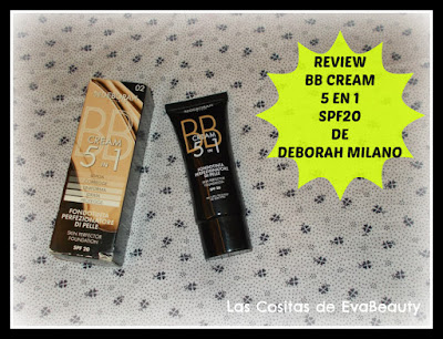 Review BB Cream 5 en 1 SPF20 de Deborah Milano