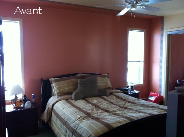 l 39 espace d co avant apr s une chambre coucher romantique et styl e. Black Bedroom Furniture Sets. Home Design Ideas