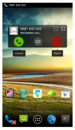 Acer Liquid S2 Display Screen