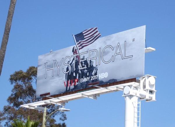 Veep season 6 Emmy billboard