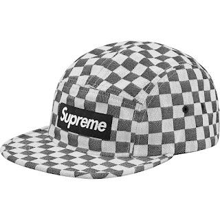 6cb3475d988 Supreme Checkerboard Camp Hat