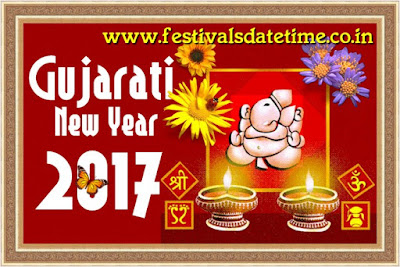 2017 Gujarati New Year Date in India